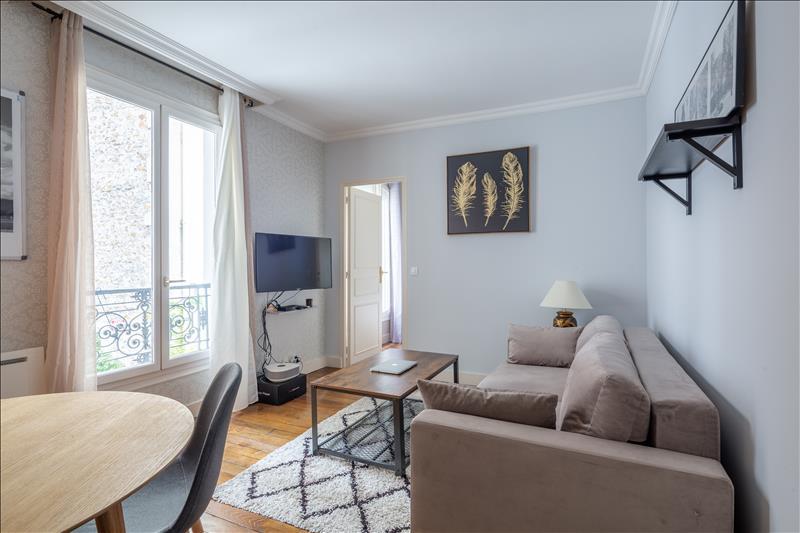 Appartement - 3ème étage - 39,08 m2 - 2 pièces - Meublé