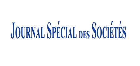 JOURNAL SPECIAL DES SOCIETES |fa-newspaper-o