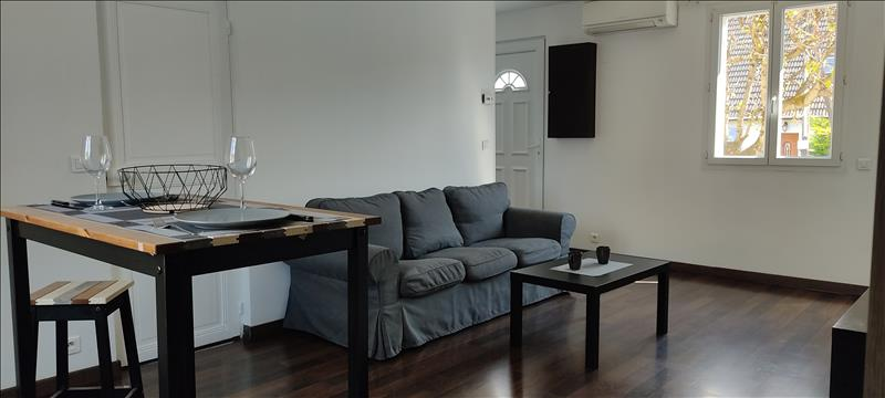Appartement - RDC - 45 m2 - 2 pièces - Meublé